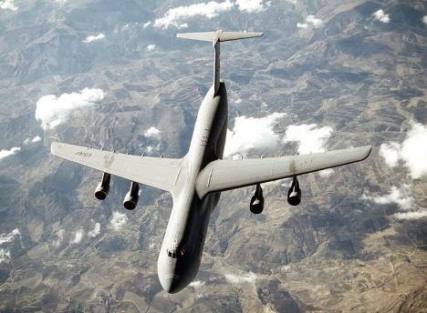 Lockheeds militära transportflygplan C-5A (internet)