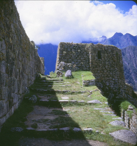 Ett tempel som inte var Soltornstemplet, FpT, Machu Picchu (1969)