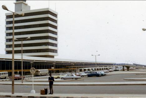 Ed på flygplatsen, Lima (1969)