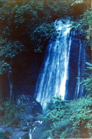 Vattenfall i regnskogen Städet, Puerto Rico (1969)
