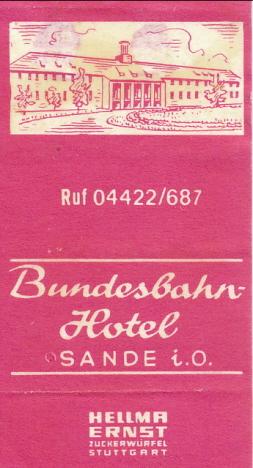 Vårt socketbitspaket, Järnvägshotellet, Sande (1970)