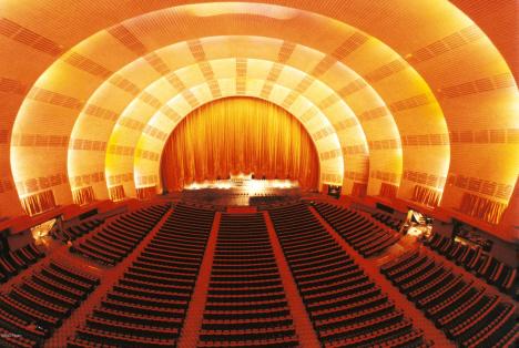 Teaterlokalen, Radio City Music Hall, New York (internet)