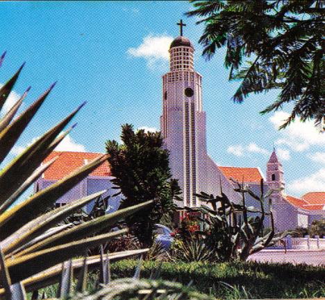 Nya Protestantkyrkan, Oranjestad, 1970 (broschyr)