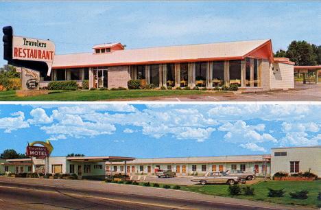 Resenärsrestaurangen, Maryville. 1971 (vykort)