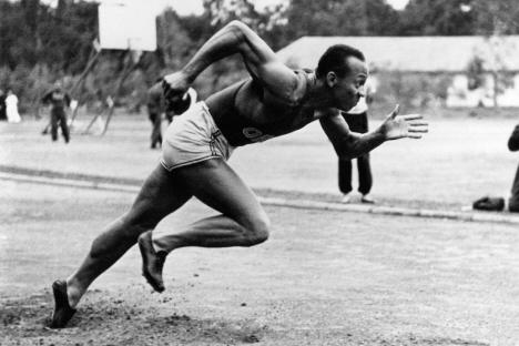 Jesse Owens, Berlin, 1936 (internet)
