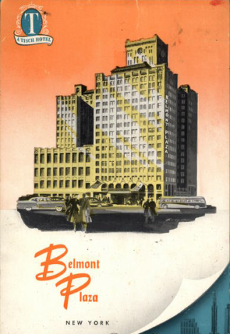Hotel Belmont Plaza New York